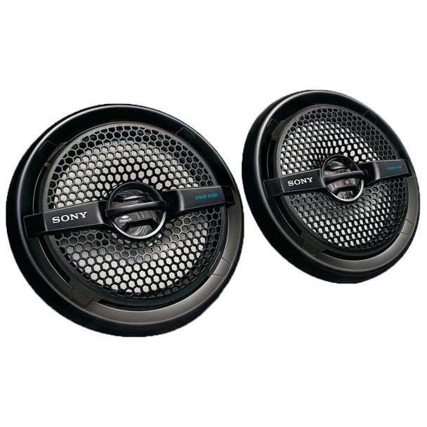 Sony XS-MP1611B 6.5 in (16 cm) Dual-Cone Marine Speaker (Pair)