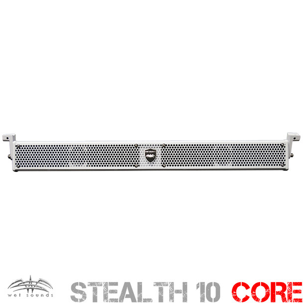 Wet Sounds Non Amplified STEALTH 10 V2 Passive Sound Bar White