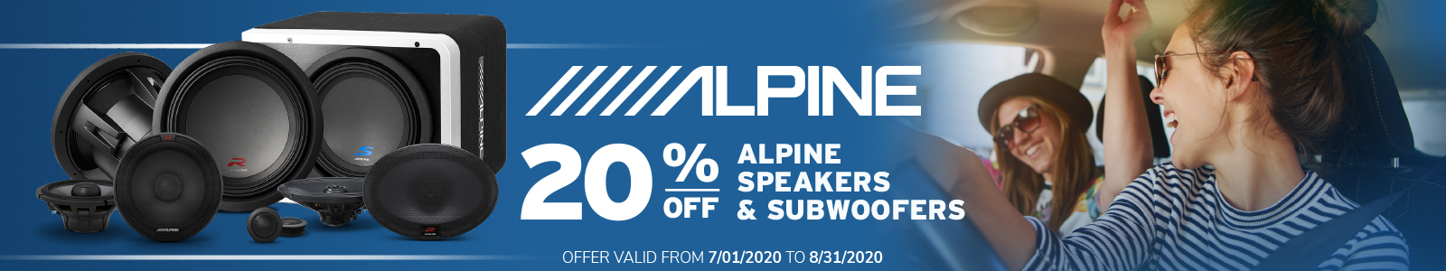 Alpine 20% Off!