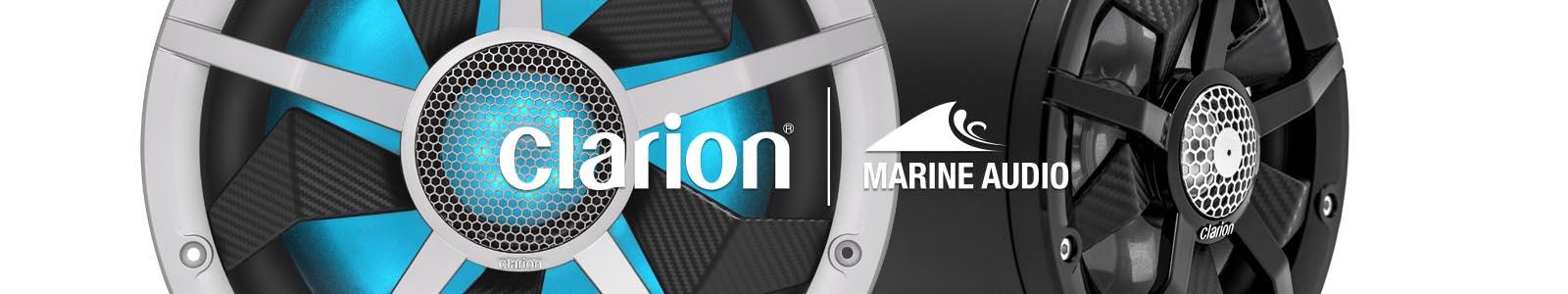 Clarion Sale! Save huge on amazing clarion marine audio equipment!