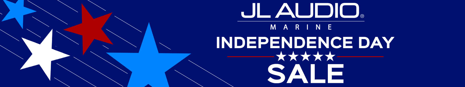 JL Audio Independence Day Closeout Sale!