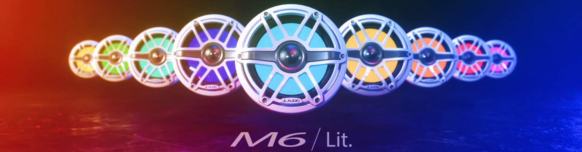JL Audio M6 Speaker Family - Lit
