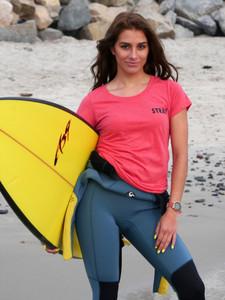 Women's Stray Boards t-shirt - light pink