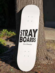 Stray skateboard deck - 8.25