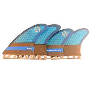 Rainbow Fin Company AK4 Quad Set -Futures- Blue/Black