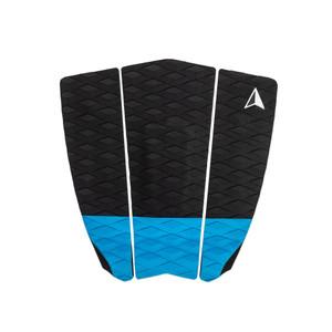 Roam 3 Piece Surfboard Traction Pad- Blue/Black