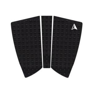 Roam 2+1 Piece Fish Surfboard Traction Pad- Black