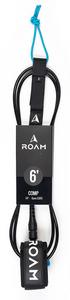 Roam Surf 6' Comp Surfboard Leash-Black