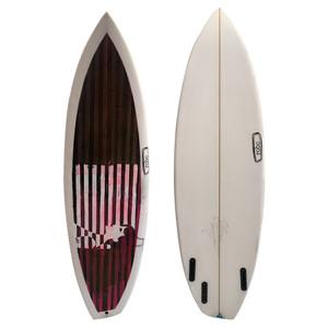 "5'7"" RS Goofy Asymmetrical New Surfboard"