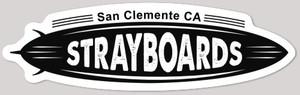 Stray Boards OG Die Cut Sticker