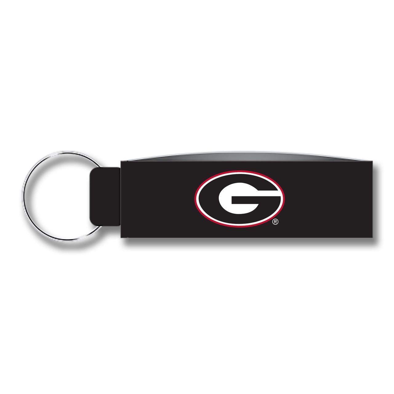 New University of Georgia  Keychains Lot Of 10