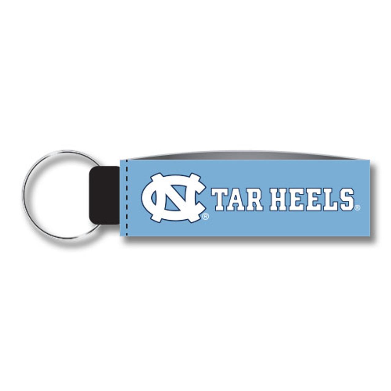 North Carolina Tar Heels Impact Keychain