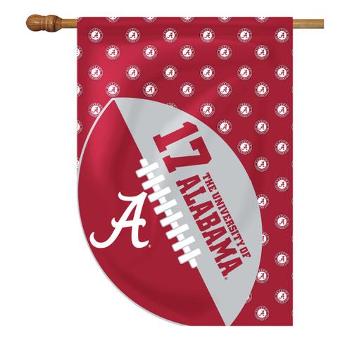Alabama Sports Cut House Flag