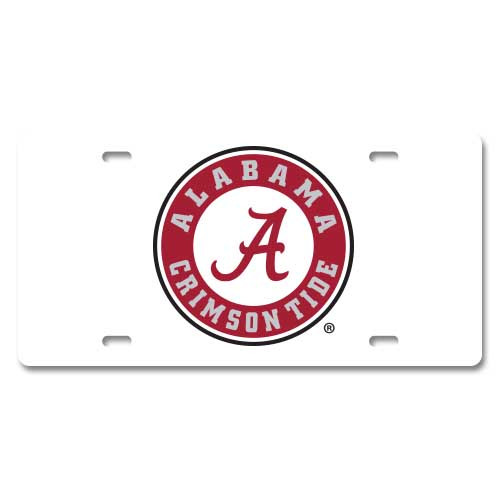 Alabama Plastic License Plate