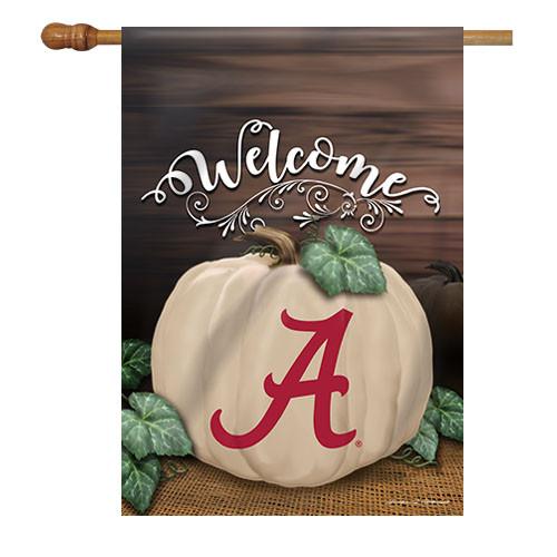 Alabama Pumpkin House Flag