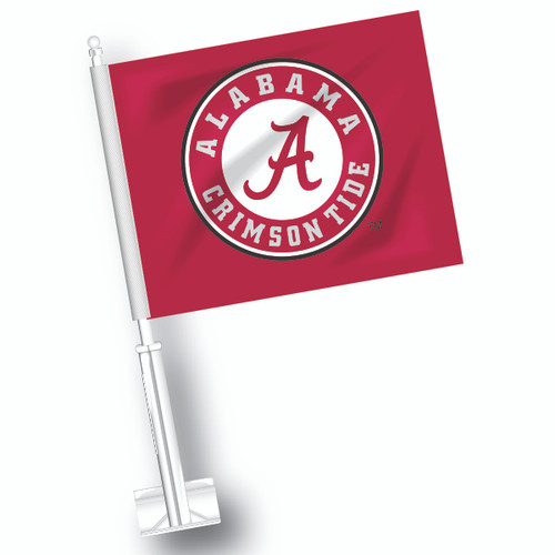 Alabama Car Flag - Circle A