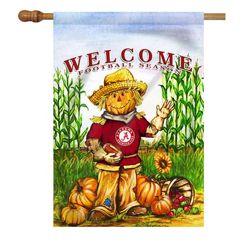 Alabama Scarecrow House Flag