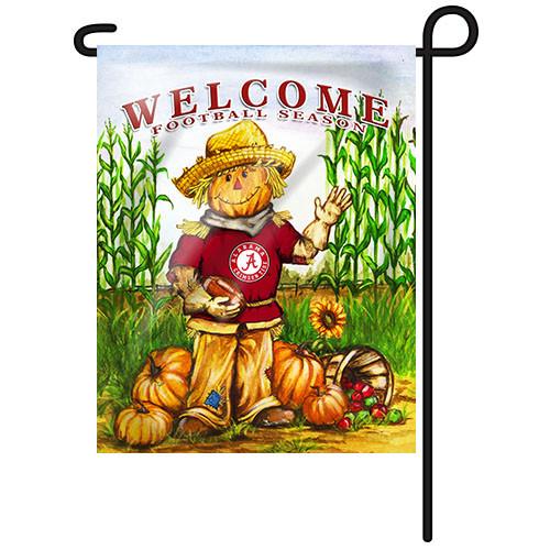 Alabama Scarecrow Garden Flag