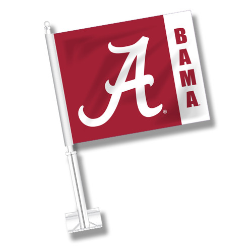 Alabama Car Flag - Fly Stripe