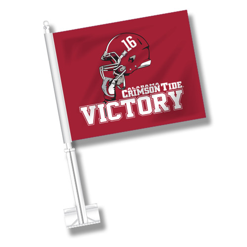 Alabama Car Flag - Victory