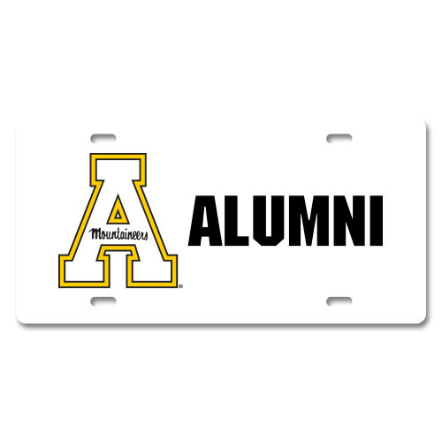 Appalachian State Specialty License Plate