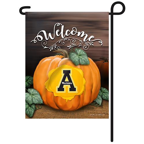 Appalachian State Pumpkin Garden Flag