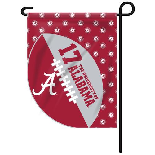 Alabama Sports Cut Garden Flag