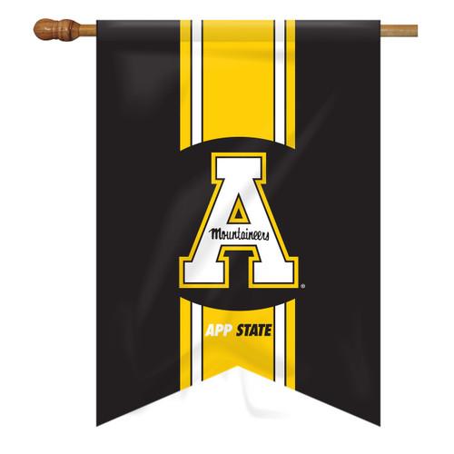 Appalachian State Vintage House Flag