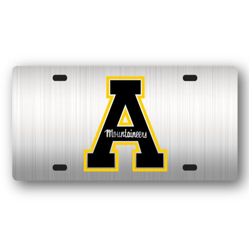 Appalachian State Metal License Plate