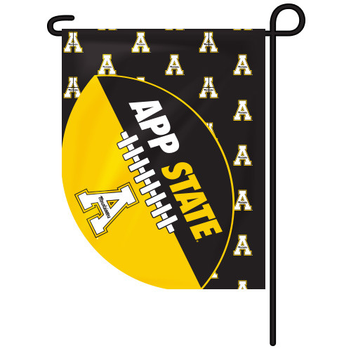 Appalachian State Sports Cut Garden Flag