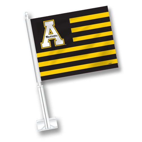 Appalachian State Car Flag - American