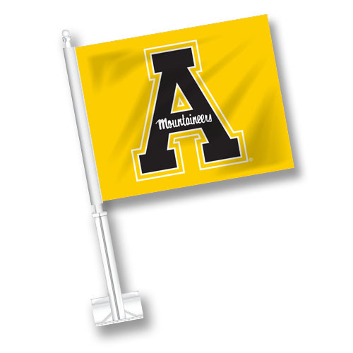 Appalachian State Car Flag - A