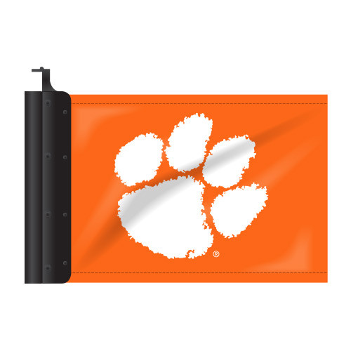 Clemson Antenna Flag