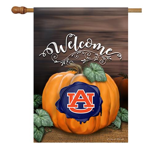 Auburn Pumpkin House Flag