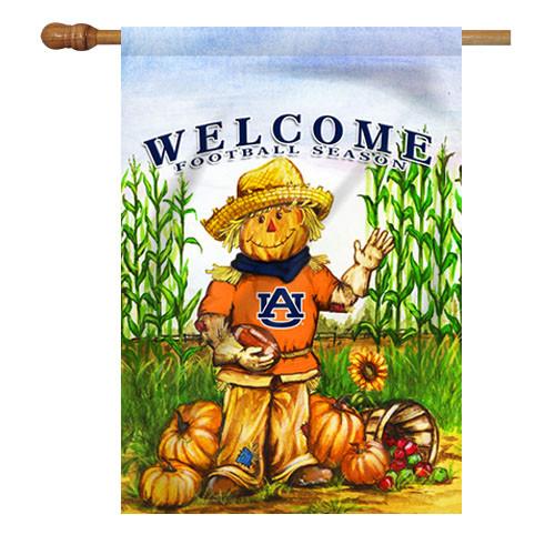 Auburn Scarecrow House Flag