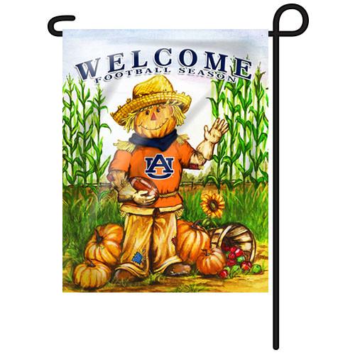 Auburn Scarecrow Garden Flag