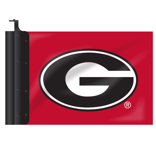 Georgia Antenna Flag