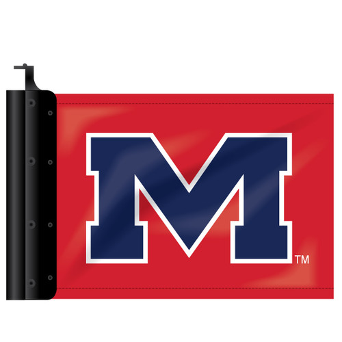 Ole Miss Antenna Flag