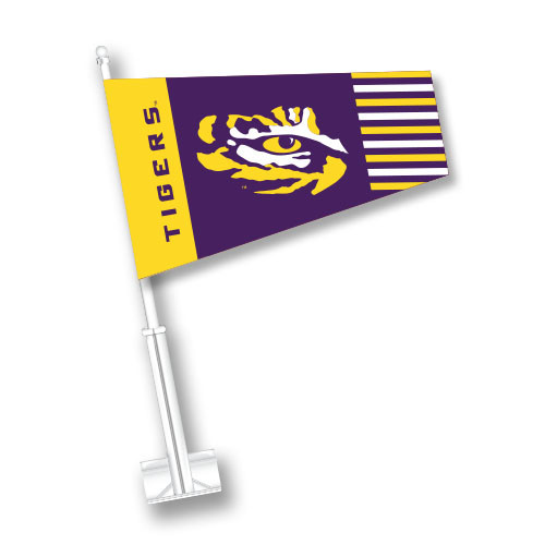 LSU Car Sock