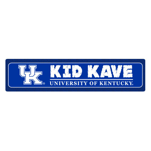 "Kentucky 4""x18"" Metal Sign"