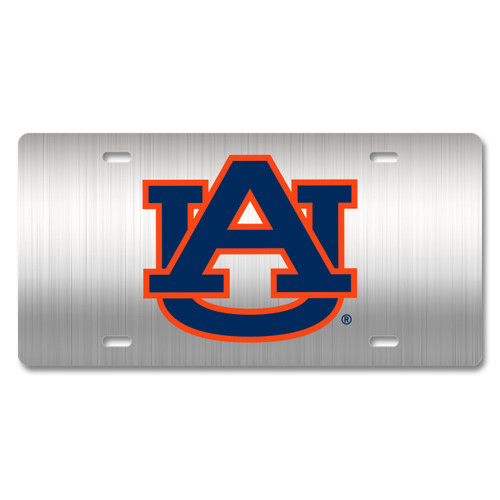 Auburn Metal License Plate