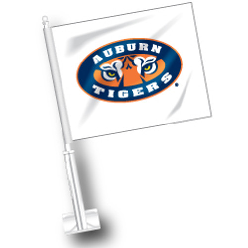 Auburn Car Flag - Tiger Eyes