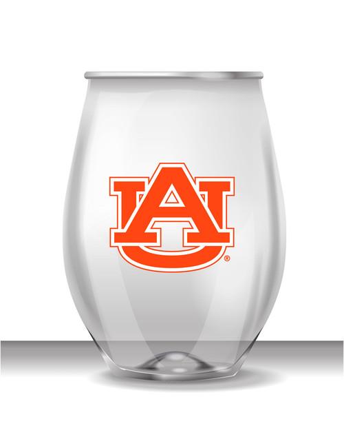 Auburn 16 oz Stemless Plastic Cup