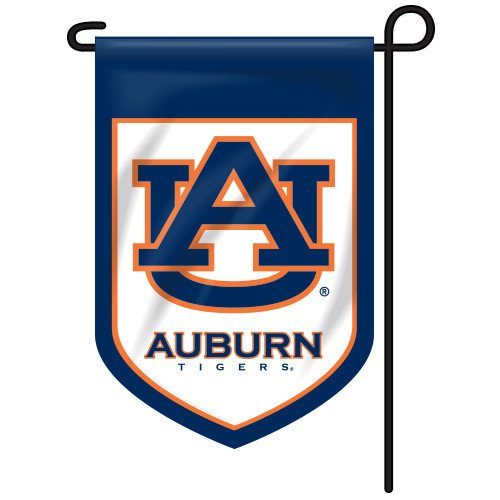 Auburn Shield Garden Flag