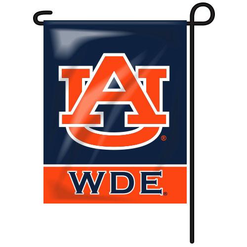 Auburn Rectangle Garden Flag - WDE