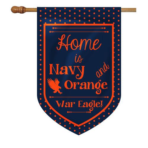 Auburn House Flag - Home Is
