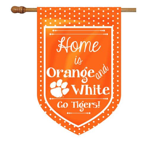 Clemson House Flag - Home Is