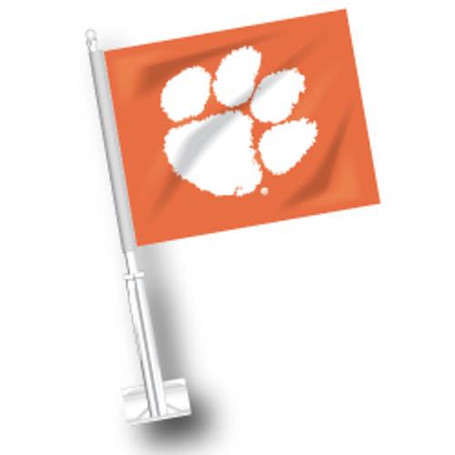 Clemson Car Flag
