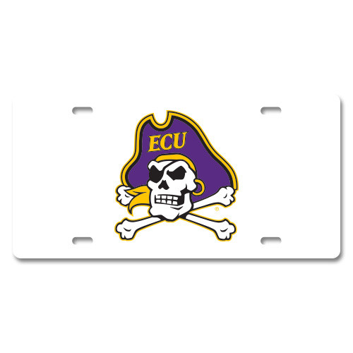 East Carolina Plastic License Plate