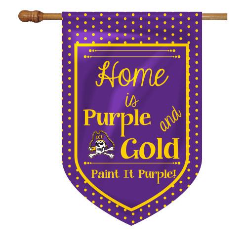 East Carolina House Flag - Home Is